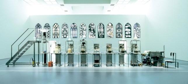 machine de Wim Delvoye Cloaca