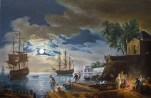 la-nuit-un-port-de-mer-au-clair-de-lune-de-joseph-vernet