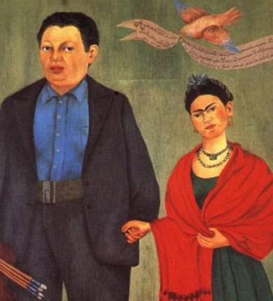 Frida Kahlo et Diego Riviera