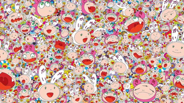 Takashi Murakami. Courtesy of MFA