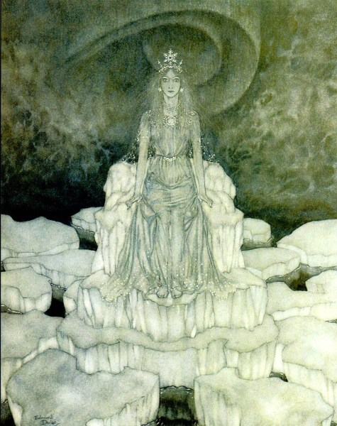 Edmund_Dulac_-_Snow_Queen