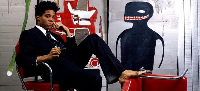 Jean-Michel Basquiat atelier