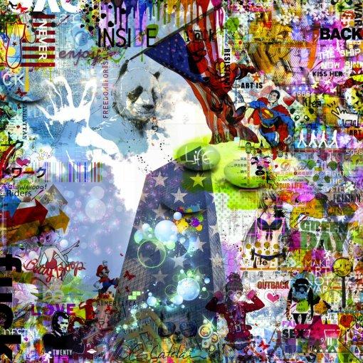 Un panda à NY par Christophe Catelain