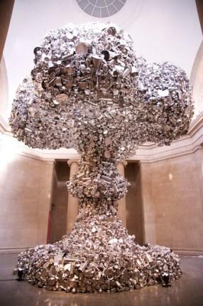 Subodh Gupta, recycled art