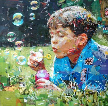 Derek Gores, recycled art