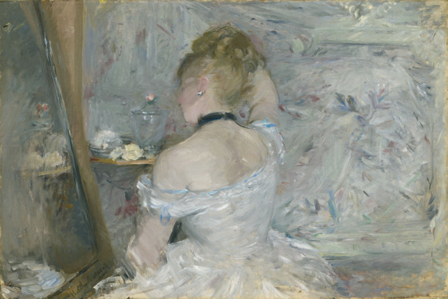Berthe Morisot woman painting