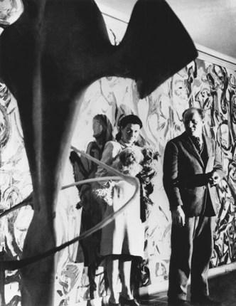 Peggy Guggenheim and Jackson Pollock
