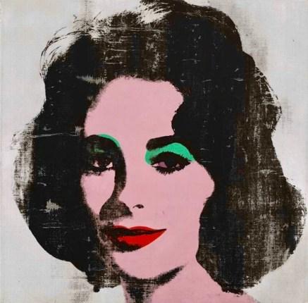 Andy Warhol Silver Liz, 1963