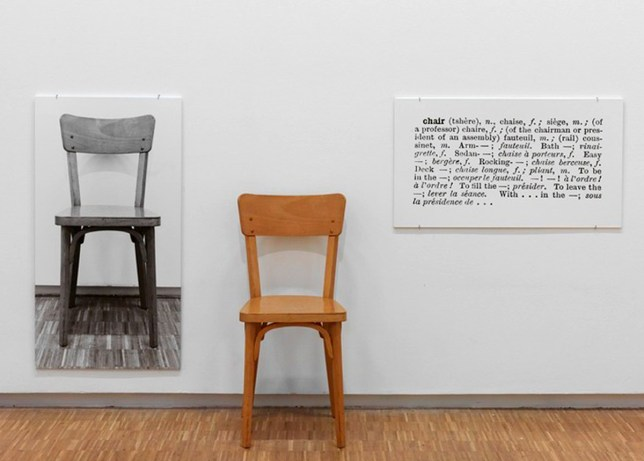 Art Conceptuel, Jospeh Kosuth, One and Three Chairs