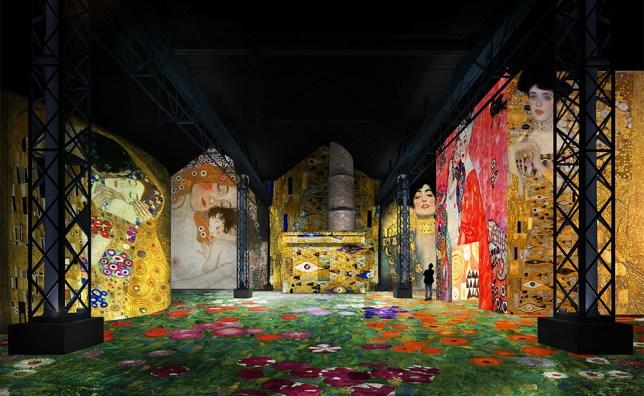 Gustav Klimt et Egon Schiele, Ateliers des lumières