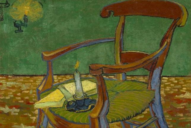 Van Gogh, Le Fauteuil de Gauguin