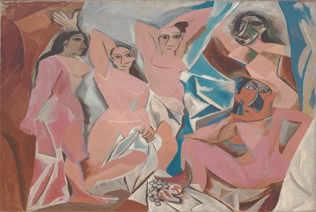 Picasso cubisme les demoiselles d'avignon