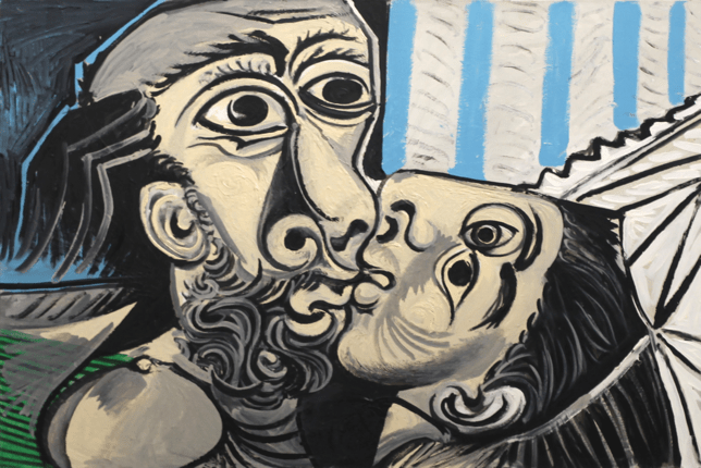 Pablo Picasso, The Kiss (1969)