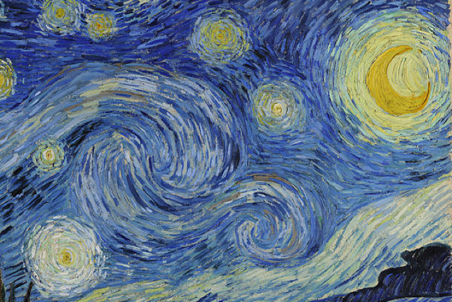 Starry Night Close-up