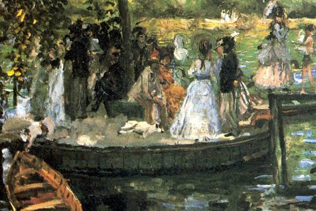 Pierre-Auguste Renoir La Grenouillère