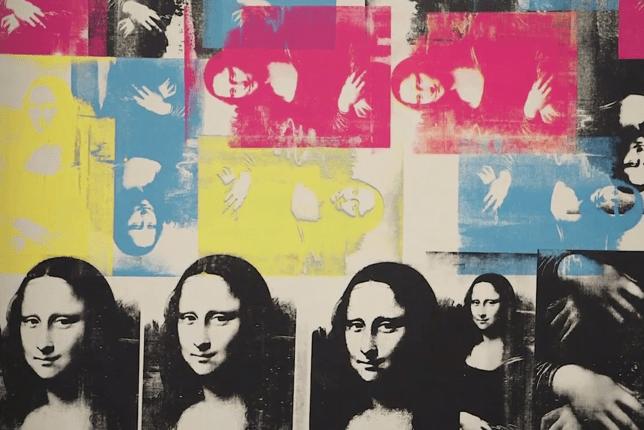 Warhol Mona Lisa