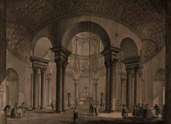 """Giambattista Piranesi, """"Veduta interna del Sepolcro di Santa Costanza"""", Roma [1748-1778]. Bassano del Grappa, Museo Civico, Gabinetto disegni e stampe."""