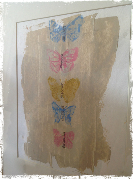 Butterfly Wallhanging 5