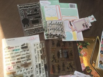 Stamps used for My Planner/My Friend