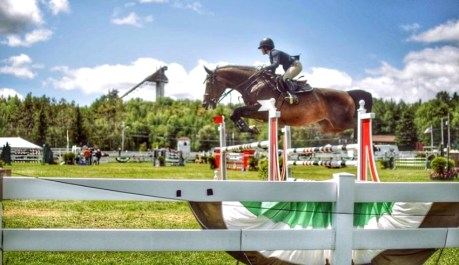 The best thing to see in the Lake Placid - Lake Placid Horse Show