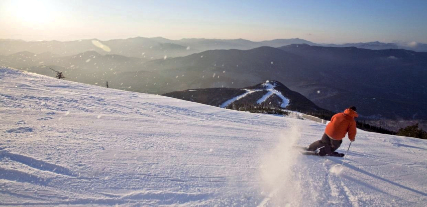 The best thing to see and do in the Lake Placid - snowboarding and skiing in Lake Placid