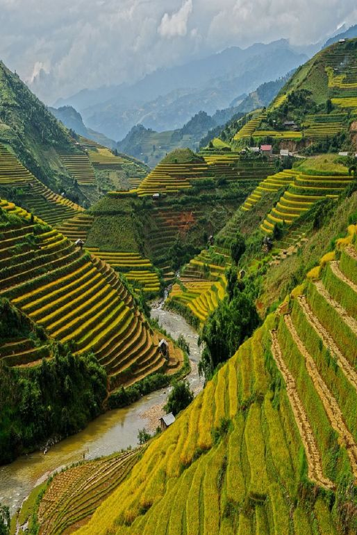 Mù Cang Chải, Vietnam - 12 Breathtaking Places to Spend Your Birthday Vacation