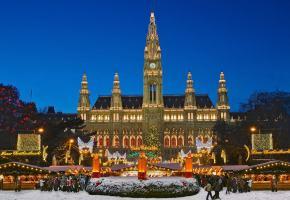 Christmas, Vienna Austria - Christmas Vacation in Europe