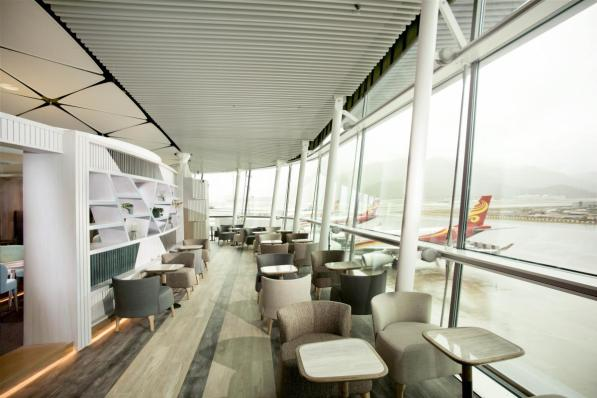 Hong Kong Airlines - Club Autus - Scenery Zone