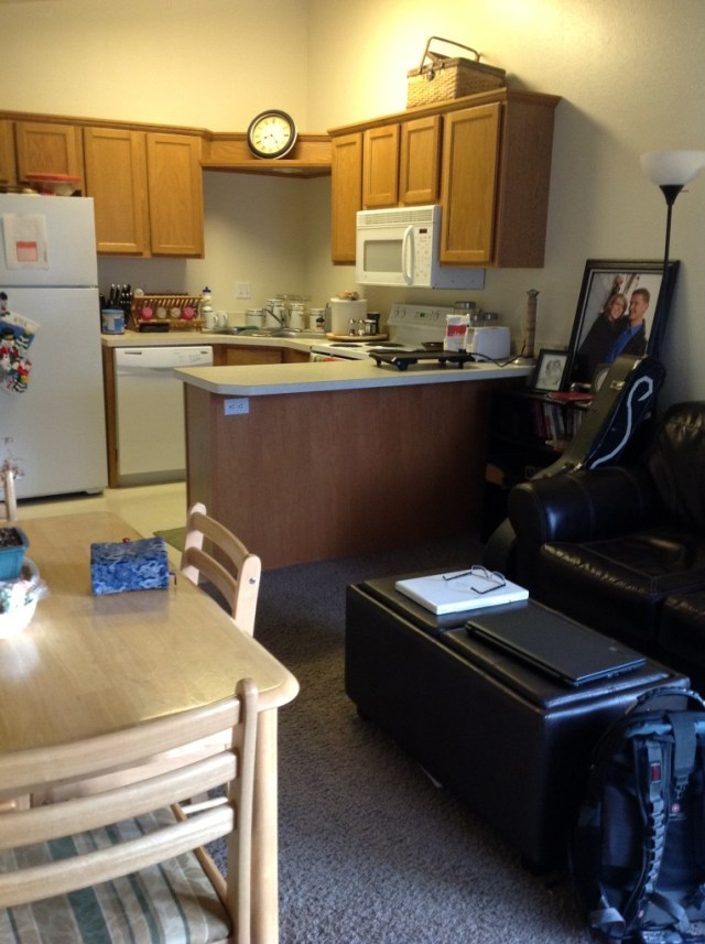 Our apartment in Provo during Kyle's first two semesters of his masters.