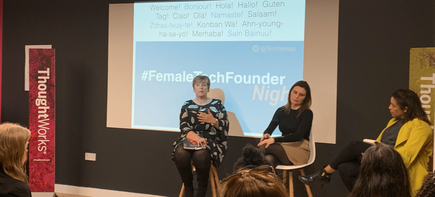 #FemaleTechFounder Night – April event round up