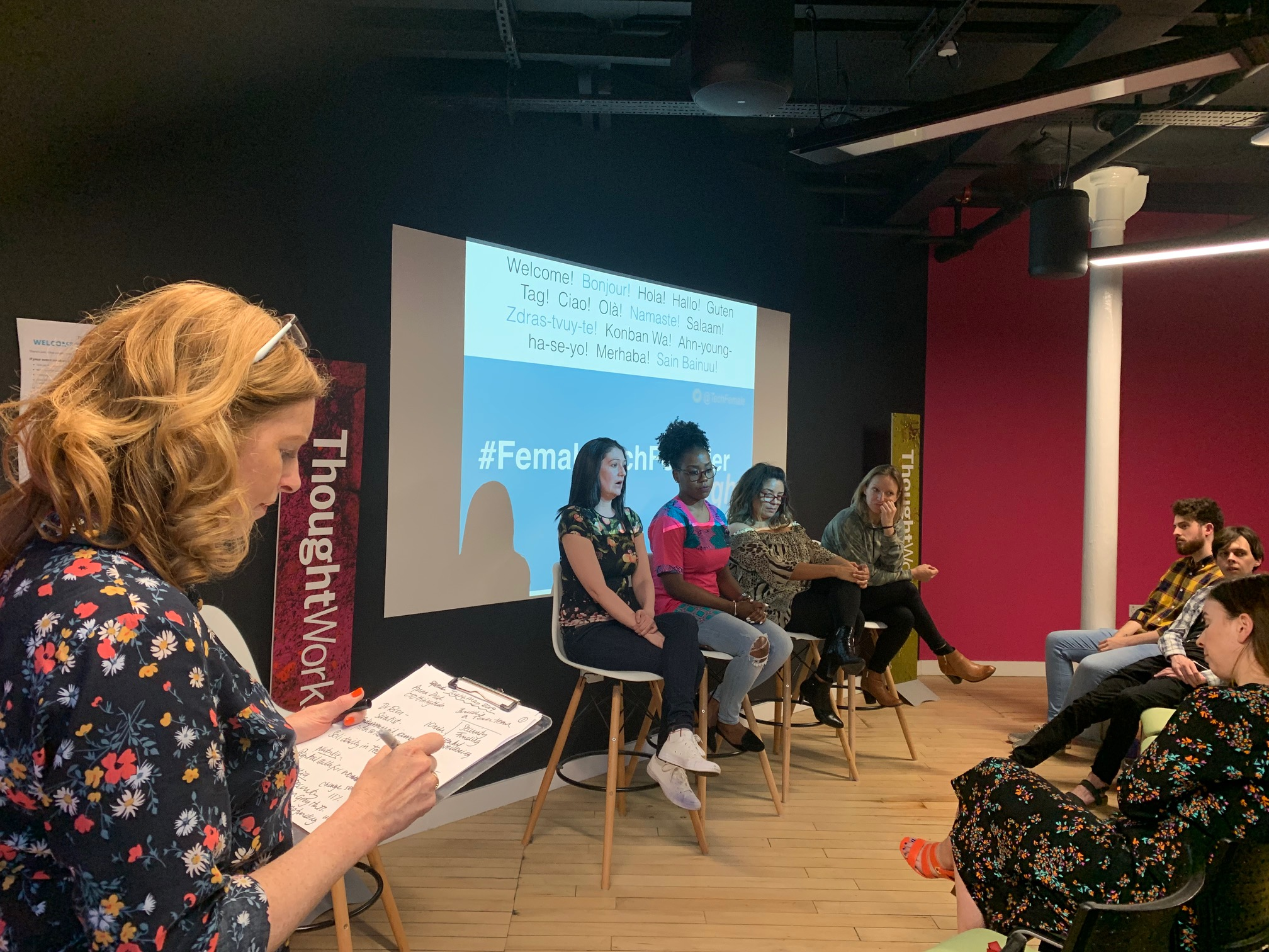 June #FemaleTechFounder Night – How do I pitch to an investor?