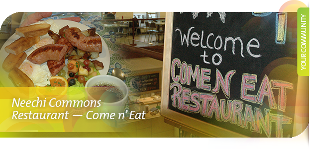Neechi Commons Restaurant - Come n' Eat