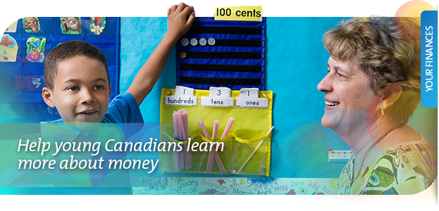 Help young Canadians learn about money