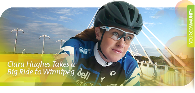 Clara Hughes Big Ride