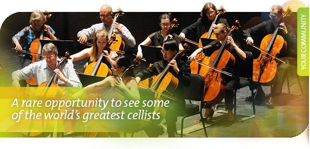 Agassiz Music's International Cello Festival is Back