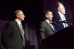 ACU presenting Award to Diversity Foods