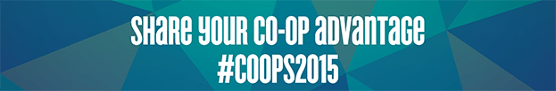 """The Co-op Week 2015 theme is """"our co-op advantage"""". This year the week of celebration will take place October 11 to 17, 2015."""
