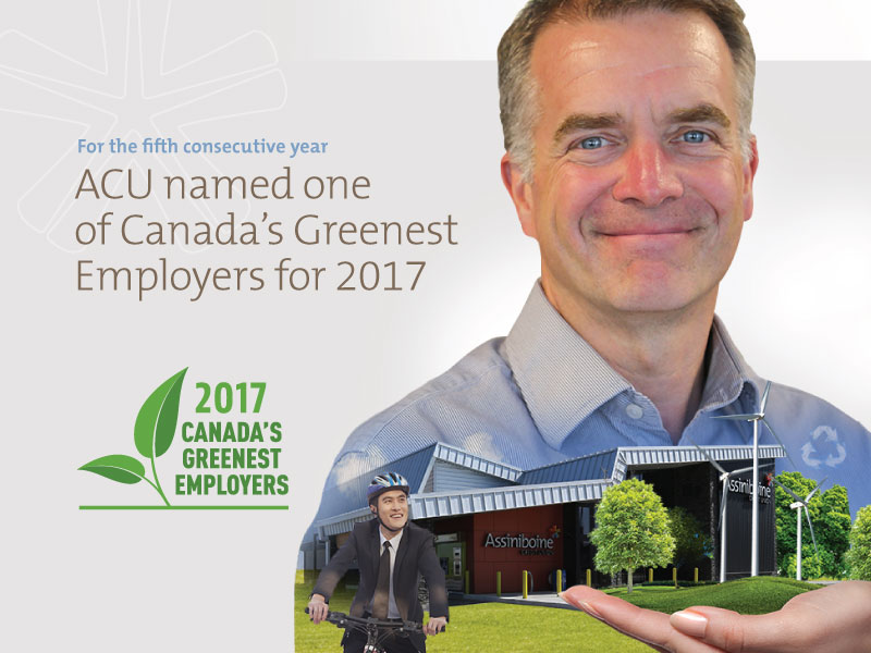 ACU named one of Canada's Greenest Employers of 2017