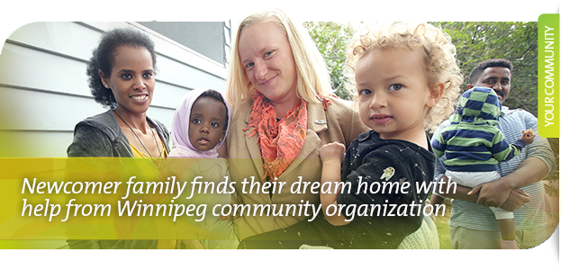 Chalmers Neighbourhood Renewal Corporation: Newcomer family finds their dream home with help from Winnipeg community organization