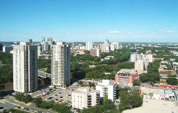 Winnipeg Manitoba Skyline 2019 Housing Predictions While The