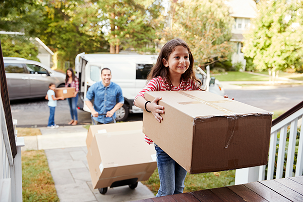 Buying your first home: Moving in