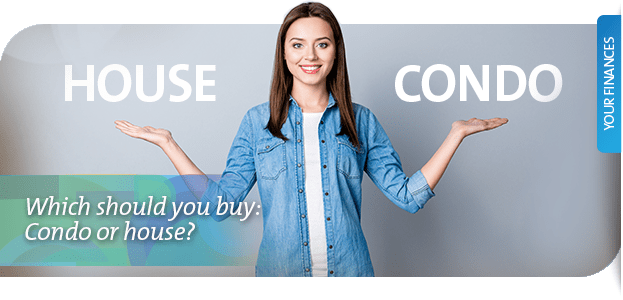 Condo or house: Should you buy a house or condo?
