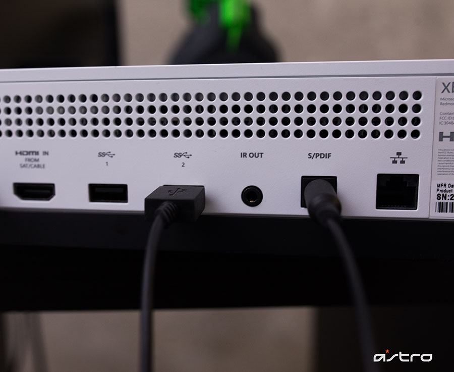 A50 Wireless Base Station Xbox One Setup Guide ASTRO