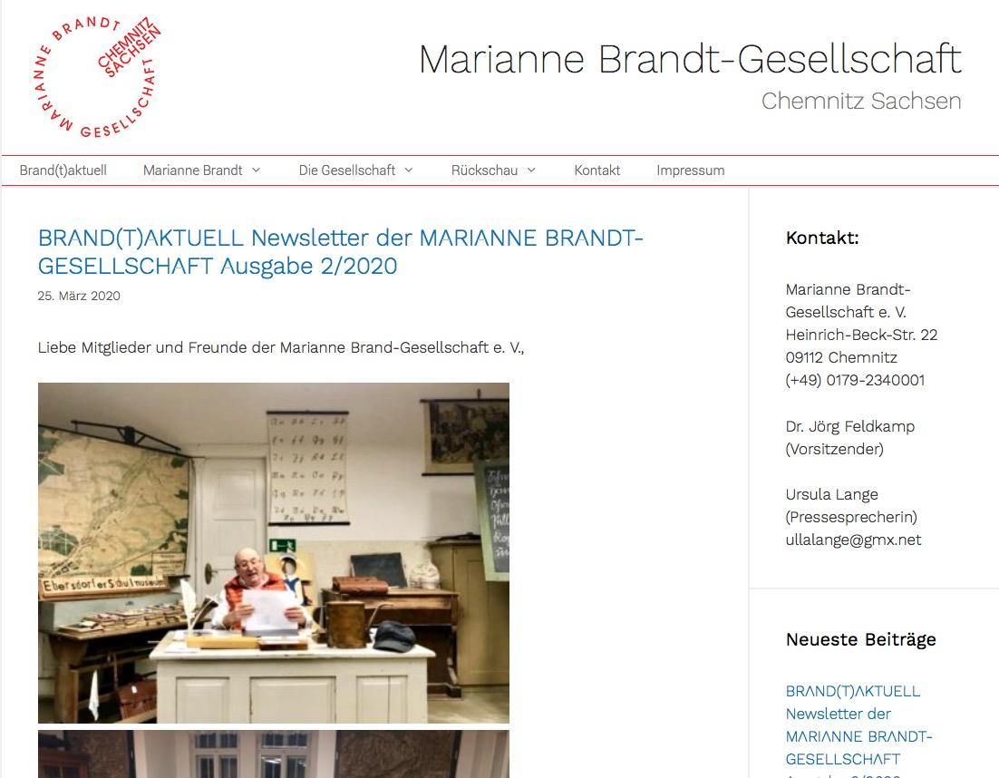 Marianne Brandt-Gesellschaft