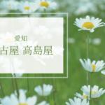名古屋高島屋 期間限定ショップのお知らせ