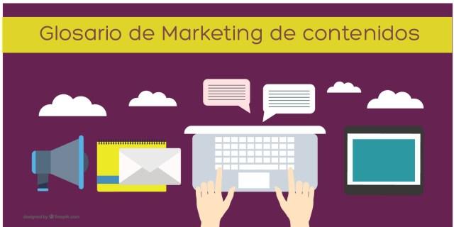 glosario de marketing de contenidos