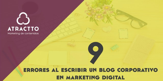 errores escribir blog corporativo