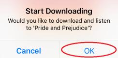 Start downloading.