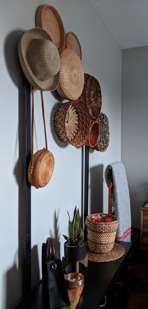 Boho Baskets Wicker Canteen