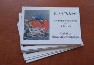 Kalligrafie Aukje Hetebrij